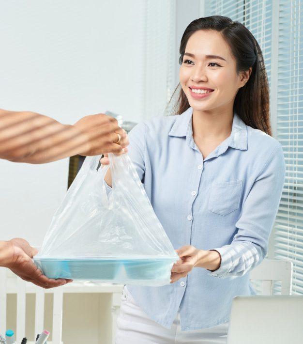 บริการจัดส่งอาหารฟรีในกรุงเทพฯ